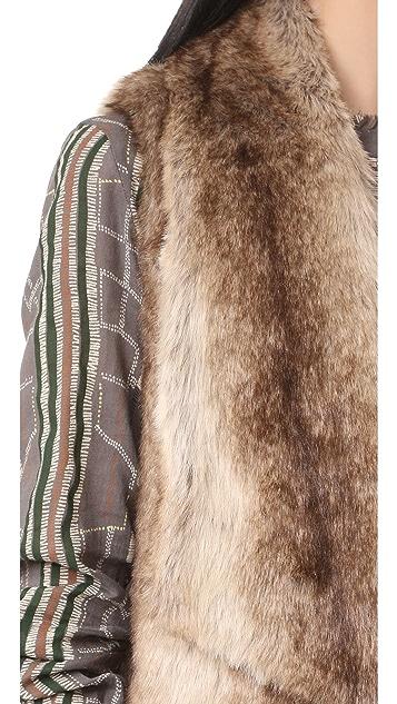 BB Dakota Jack by BB Dakota Julius Faux Fur Vest