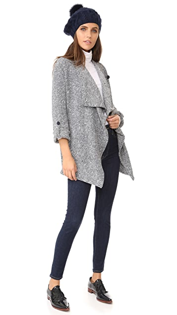 BB Dakota Anitra Drape Front Jacket