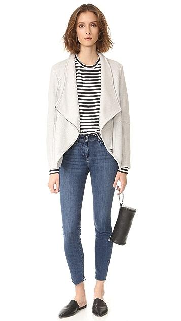 BB Dakota Samily Fleece Moto Jacket
