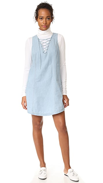 BB Dakota Jack by BB Dakota Gilbert Lace Up Dress