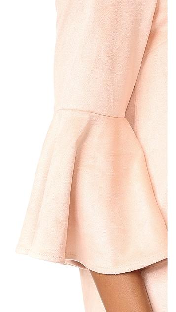 BB Dakota Jack by BB Dakota Devlyn Flounce Dress