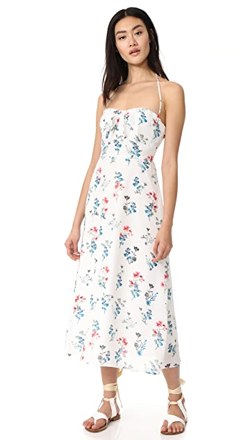 BB Dakota Dawn Floral Midi Dress