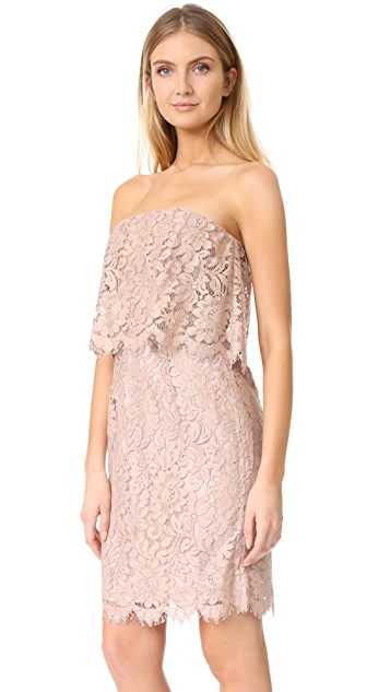 BB Dakota R.S.V.P by BB Dakota Sakura Strapless Lace Dress