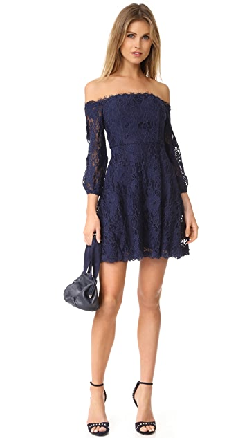 BB Dakota R.S.V.P by BB Dakota Jasmin Off Shoulder Dress