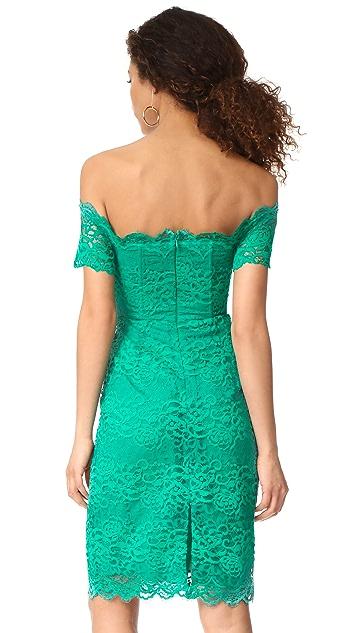 BB Dakota RSVP Moreen Off Shoulder Bustier Dress