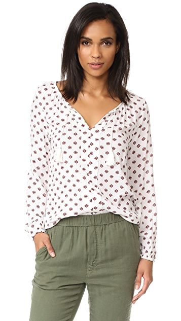 BB Dakota Jack by BB Dakota Brando Saharan Geo Printed Top