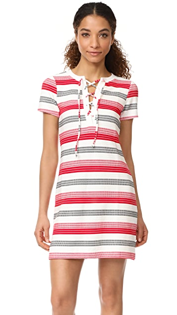 BB Dakota Jack by BB Dakota Lijah Stripe Dress