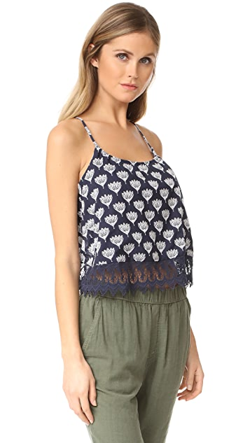 BB Dakota Taryn Embroidered Tank