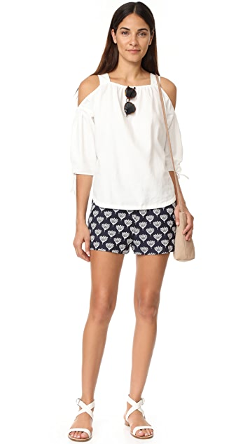BB Dakota Ulric Embroidered Shorts