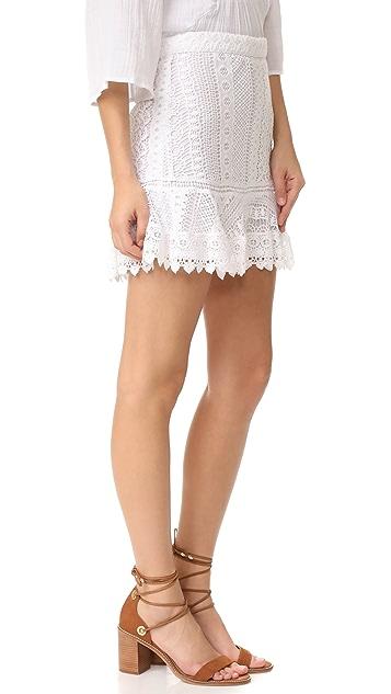 BB Dakota Vera Lace Miniskirt