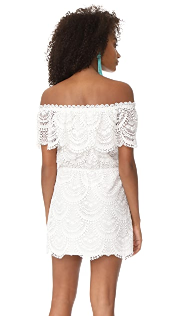 BB Dakota Hope Off Shoulder Lace Dress