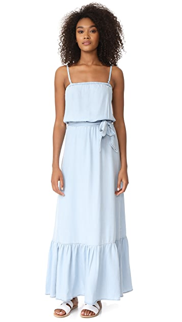 BB Dakota Kate Denim Maxi Dress