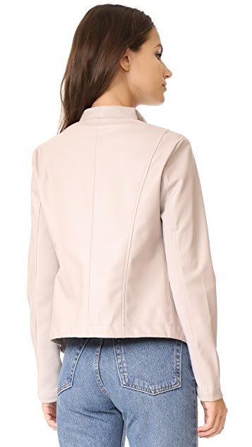 BB Dakota Gracelyn Drape Front Jacket