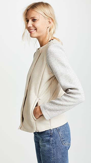 BB Dakota Glenna Bonded Faux Suede Jacket
