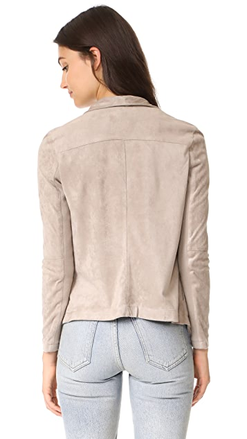 BB Dakota Wade Faux Suede Jacket