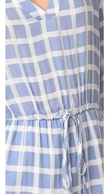BB Dakota Daniella Plaid Shirtdress