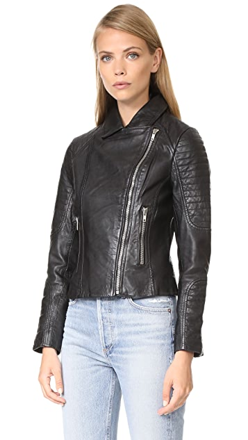 BB Dakota Dominic Leather Jacket