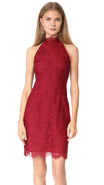 BB Dakota Cherie High Neck Lace Dress