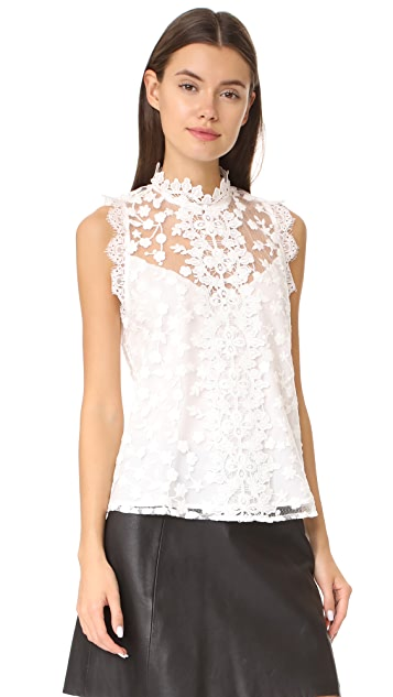 BB Dakota Allegra Novelty Lace Tank