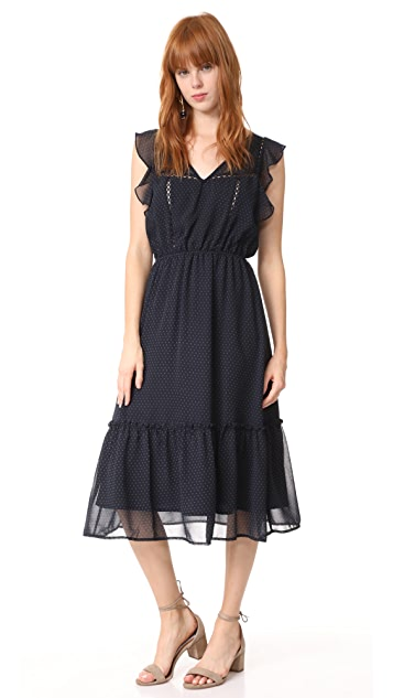 BB Dakota Carra Polka Dot Printed Dress