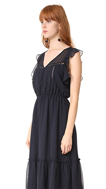 BB Dakota Carra Polka Dot Printed Dress