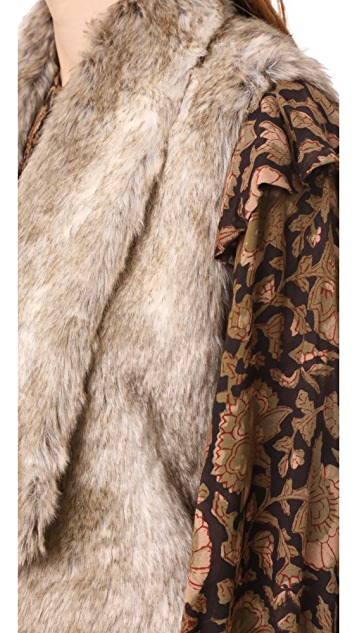 BB Dakota Jack by BB Dakota Dwight Faux Fur Vest