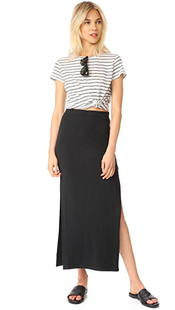 BB Dakota Jack by BB Dakota Mattison High Slit Skirt