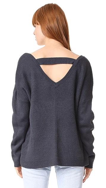BB Dakota Jack by BB Dakota Comber Deep V Sweater
