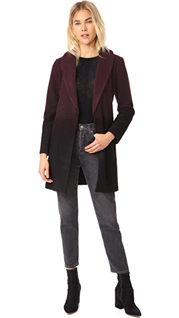 BB Dakota Evan Ombre Woolen Coat