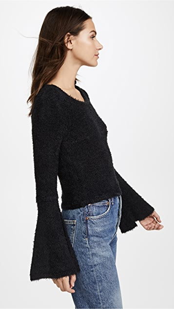 BB Dakota Jack By BB Dakota Regine Bell Sleeve Sweater