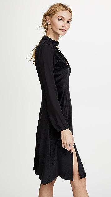 BB Dakota Jack By BB Dakota Sherwood Velvet Dress