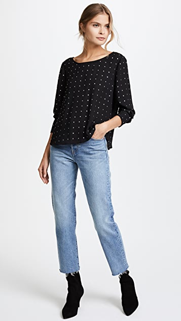BB Dakota Mead Studded Blouse