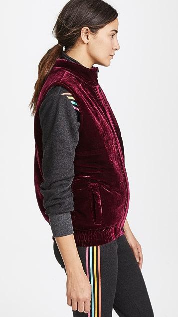 BB Dakota Withers Velvet Puffer Vest
