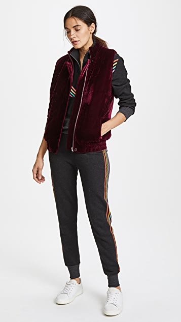 BB Dakota Withers Velvet Puffer Vest