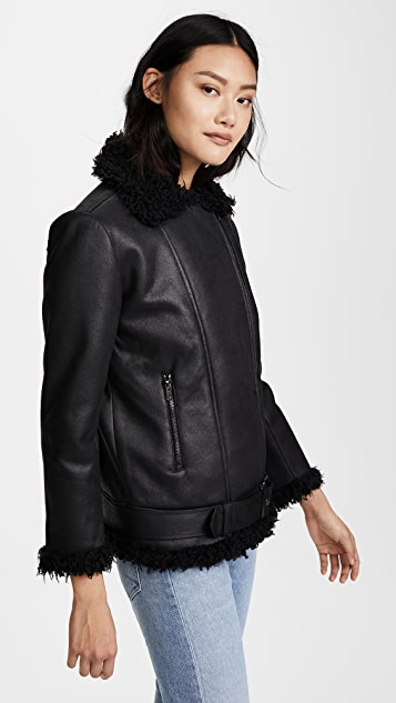 BB Dakota Bosworth Vegan Leather Jacket