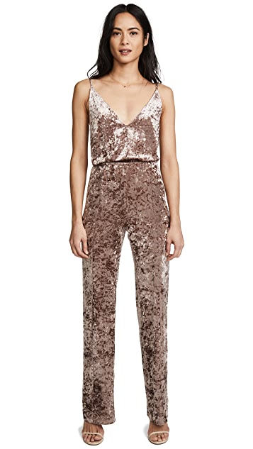BB Dakota Cassandra Velvet Jumpsuit