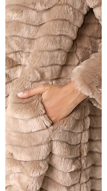 BB Dakota McCoy Faux Fur Coat