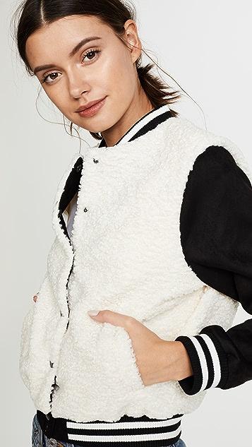 BB Dakota Karah Varsity Jacket