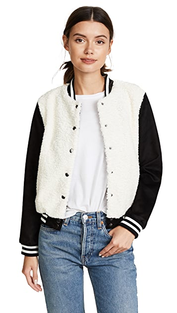 BB Dakota Karah Varsity Jacket