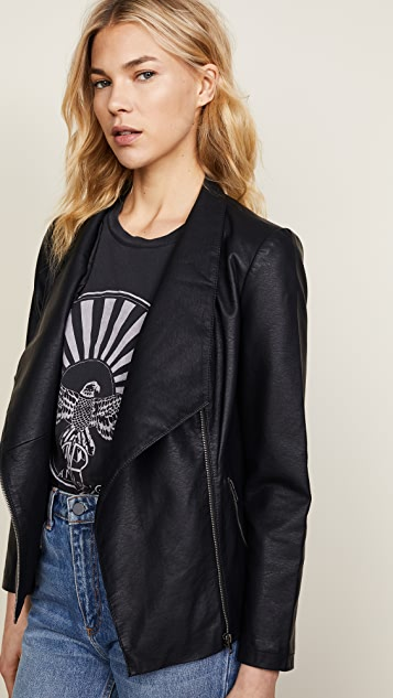 BB Dakota Johanna Vegan Leather Jacket