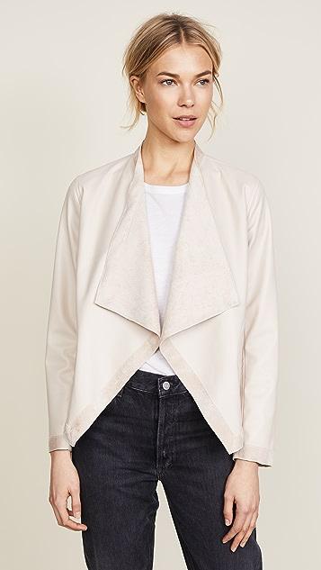 BB Dakota Teagan Reversible Vegan Leather Jacket