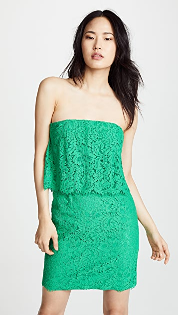 BB Dakota Cici Scalloped Lace Dress