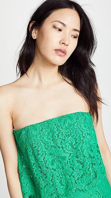 BB Dakota Cici Scalloped Lace Dress