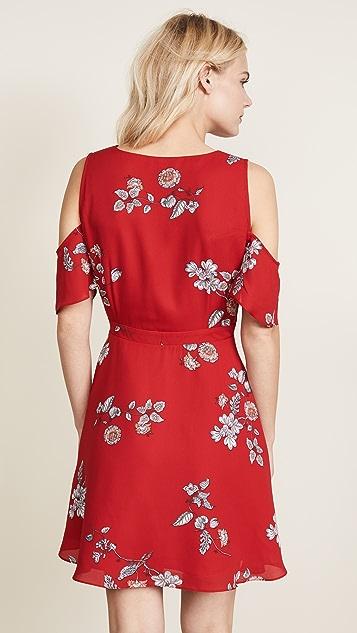 BB Dakota Floral Wrap Dress