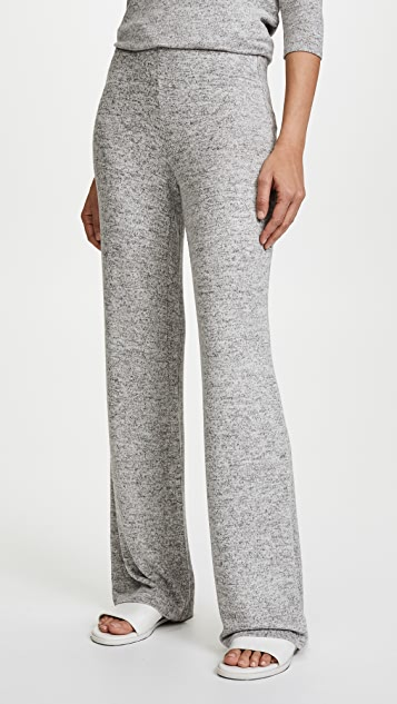 BB Dakota Brushed Knit Wide Leg Pants