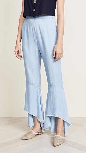 Atwell Pant in Blue. - size 0 (also in 2,4,6,8) BB Dakota