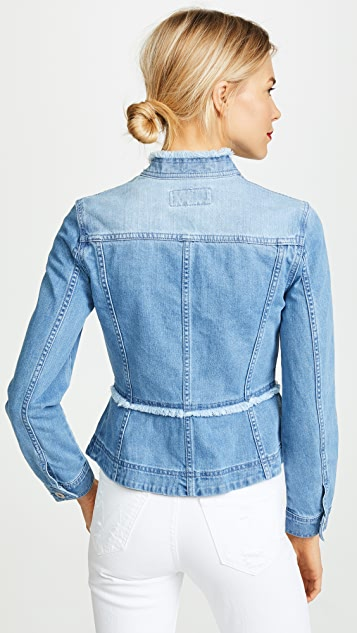 BB Dakota Coletta Denim Peplum Jacket