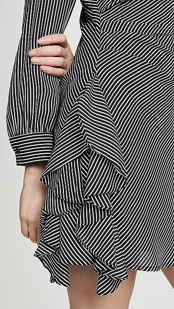 BB Dakota Run The World Candy Stripe Dress