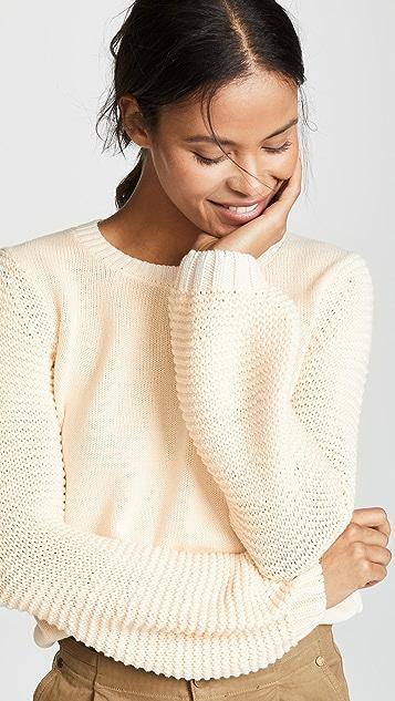 BB Dakota Fly Me To The Moon Balloon Sleeve Sweater