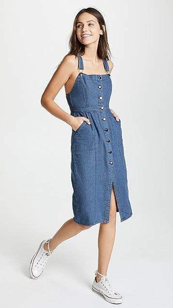 BB Dakota Labor Day Blues 连衣裙